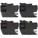 Brother LC3017 Black & Color 4-pack High Yield Ink Cartridges