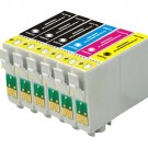 Epson 68 T068 Black & Color 6-pack High Yield Ink Cartridges