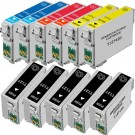 Epson 127 T127 Black & Color 11-pack EHY Ink Cartridges