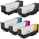 Epson 410XL T410XL Black & Color 5-pack HY Ink Cartridges