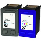 HP 56 Black & HP 57 Color 2-pack Ink Cartridges