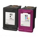 HP 63 Combo Pack 2 Ink Cartridges
