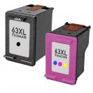 HP 63XL High Yield Black & Color 2-pack Ink Cartridges