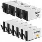 HP 902XL Black & Color 10-pack High Yield Ink Cartridges