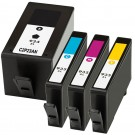 HP 934XL & 935XL Black & Color 4-pack High Yield Ink Cartridges
