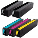 HP 970XL & 971XL Black & Color 5-pack High Yield Ink Cartridges
