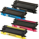 Brother TN210 Black & Color 4-pack Toner Cartridges