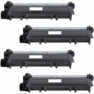 Brother TN660 (4-pack) High Yield Black Toner Cartridges