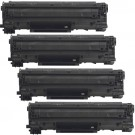 Canon 128 (4-pack) Black Toner Cartridges