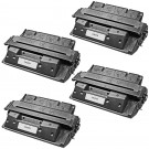 HP 27X (C4127X) 4-pack Black Laser Toner Cartridges