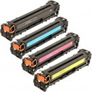 HP 128A (CE320-3A) 4-pack Laser Toner Cartridges