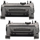 HP 90A CE390A (2-pack) Black Toner Cartridges