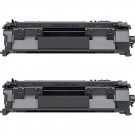 HP 05A (CE505A) 2-pack Black Toner Cartridges