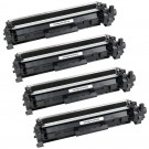 HP 17A (CF217A) 4-pack Black Toner Cartridges