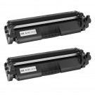 HP 30X (CF230X) 2-pack High Yield Black Toner Cartridges