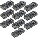HP 80A (CF280A) 10-pack Black Toner Cartridges