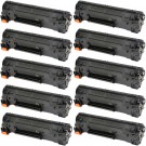 HP 83A (CF283A) 10-pack Black Toner Cartridges