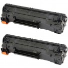 HP 83A (CF283A) 2-pack Black Toner Cartridges