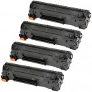 HP 83A (CF283A) 4-pack Black Toner Cartridges