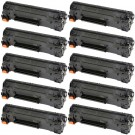 HP 83X (CF283X) 10-pack High Yield Black Toner Cartridges