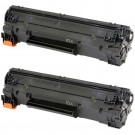 HP 83X (CF283X) 2-pack High Yield Black Toner Cartridges