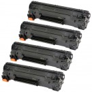 HP 83X (CF283X) 4-pack High Yield Black Toner Cartridges