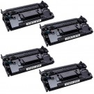 HP 87A (CF287A) 4-pack Black Toner Cartridges