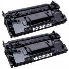HP 87X (CF287X) 2-pack High Yield Black Toner Cartridges
