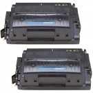 HP 42X (Q5942X) 2-pack High Yield Black Toner Cartridges
