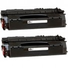 HP 49X (Q5949X) 2-pack High Yield Black Toner Cartridges