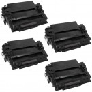 HP 11X (Q6511X) 4-pack High Yield Black Toner Cartridges