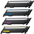 Samsung CLT-407S Black & Color 4-pack Toner Cartridges